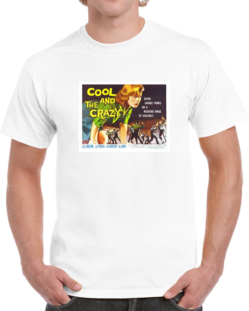 Qpphusp5 1950s Classic Vintage Movie Poster T-shirt