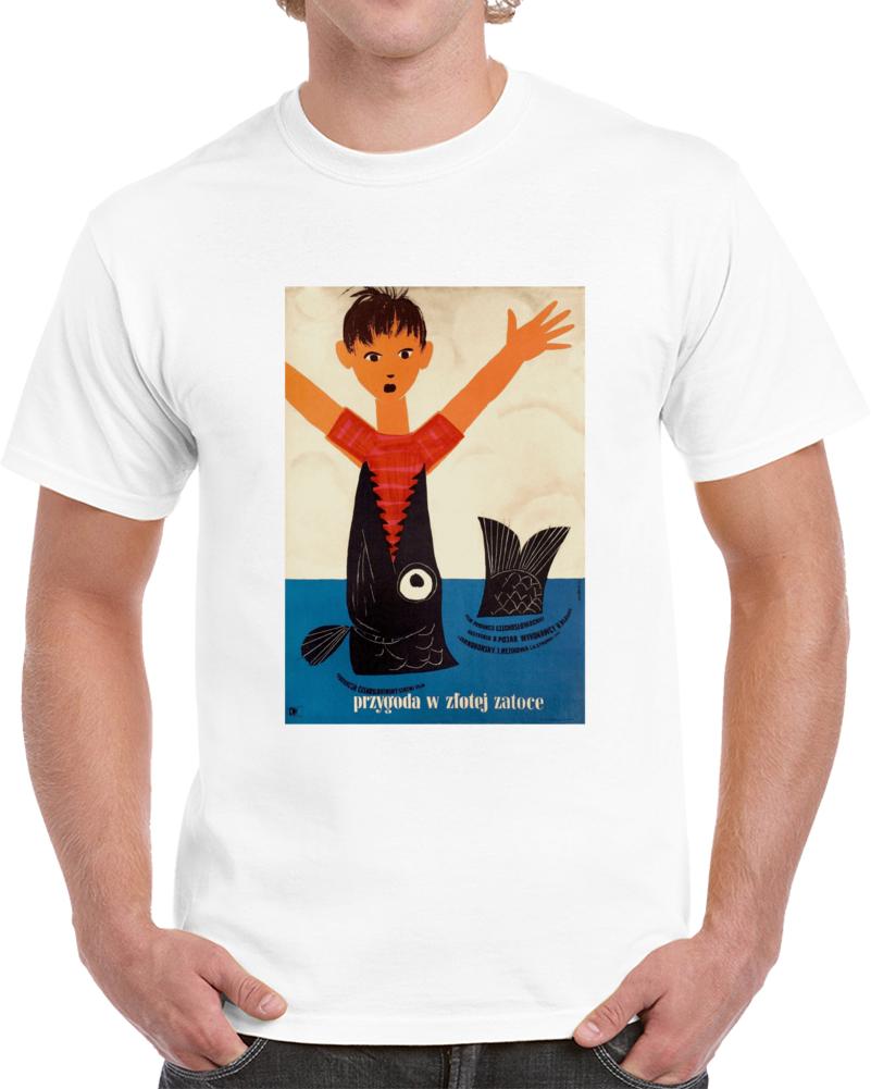 E2fw2dz4 1950s Classic Vintage Movie Poster T-shirt