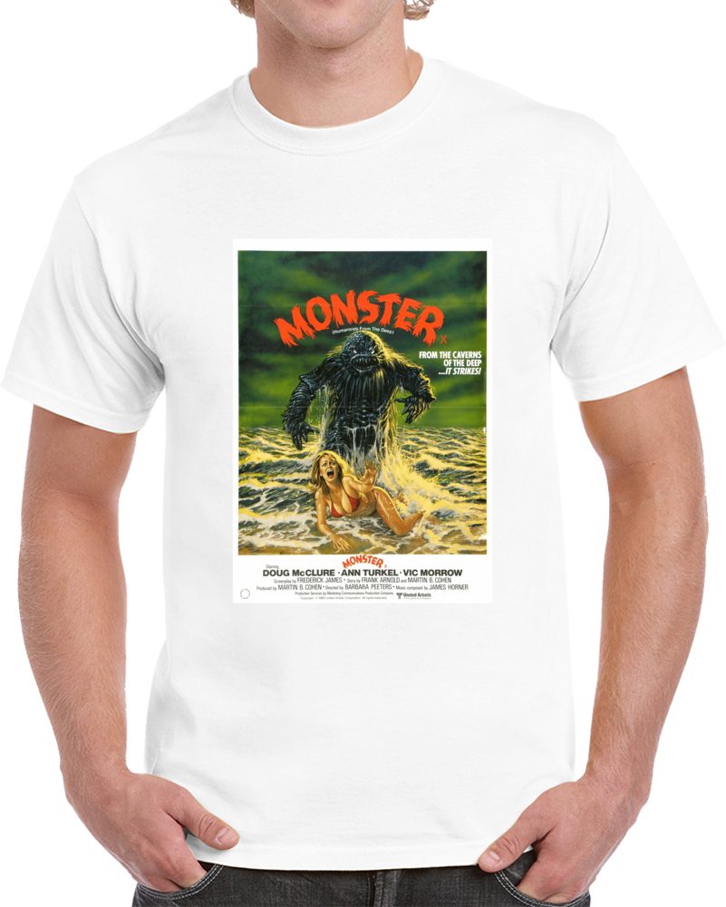 Vypld7ag 1980s Classic Vintage Movie Poster T-shirt
