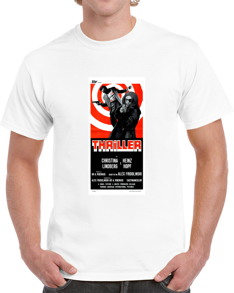 W57jyk9d 1970s Classic Vintage Movie Poster T-shirt