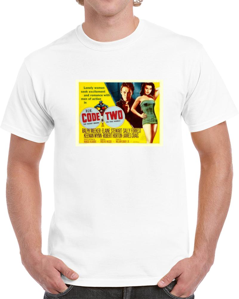 Tw2sb543 1950s Classic Vintage Movie Poster T-shirt