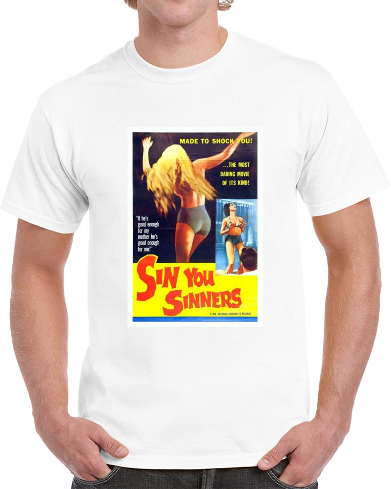 Bnrailsh 1960s Classic Vintage Movie Poster T-shirt