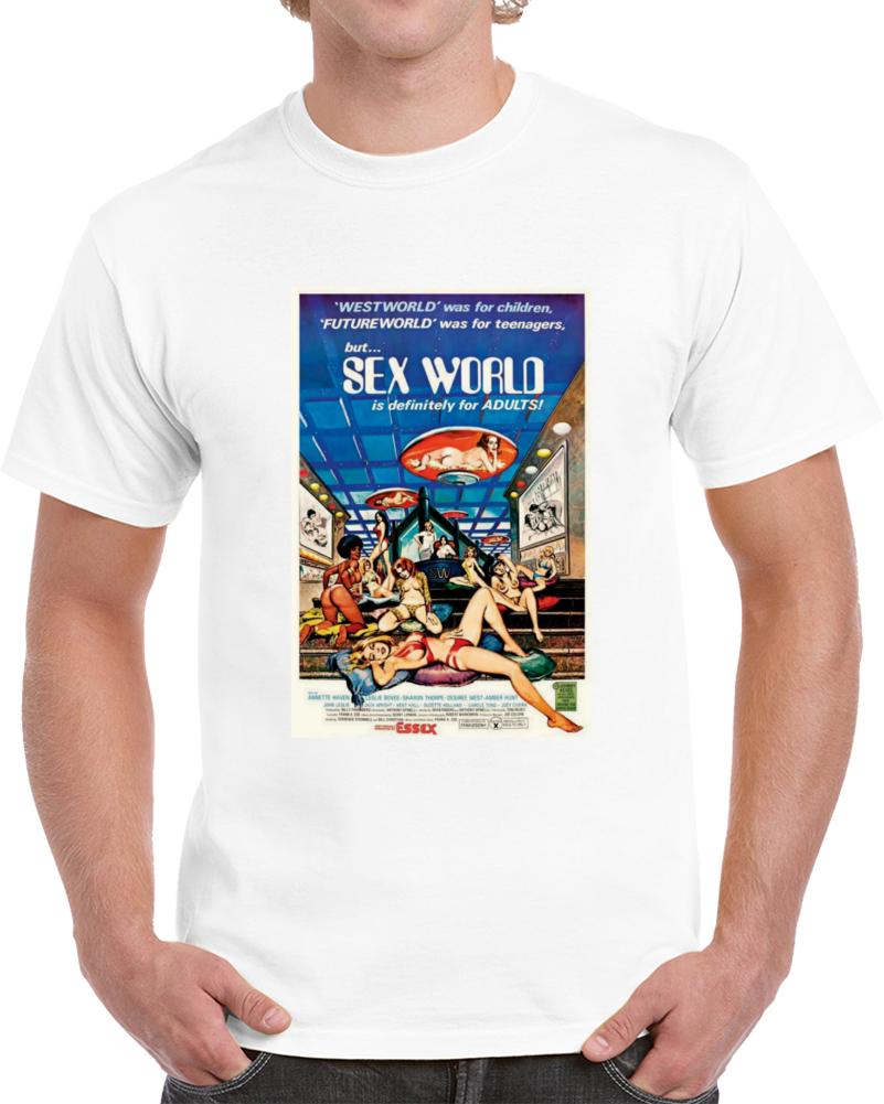 Lssac2ut1970s Classic Vintage Movie Poster T-shirt