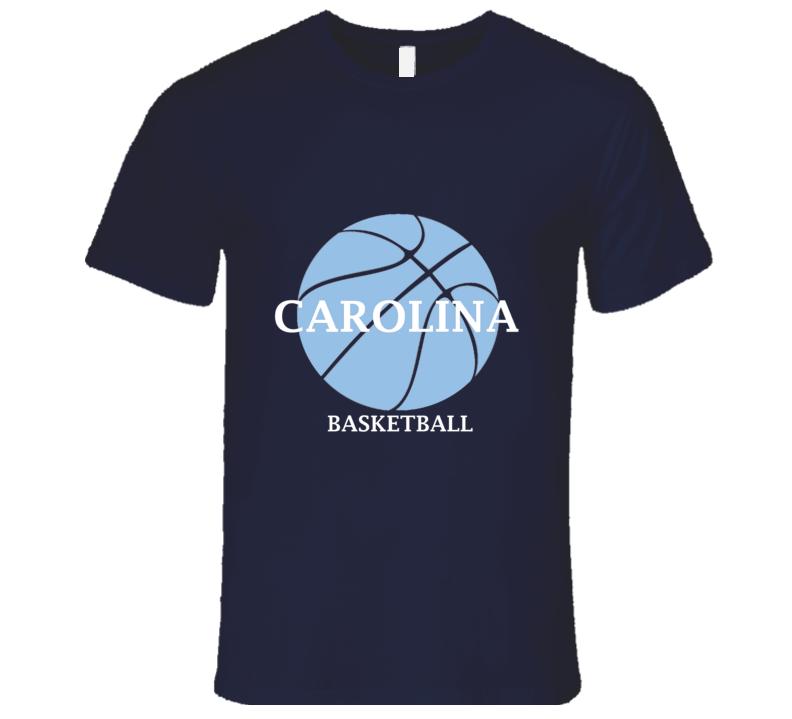 North Carolina Men's American College Univeristy Basketball Team League Sports T Shirt