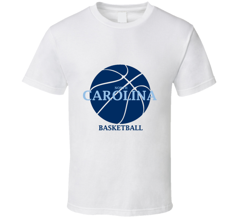 North Carolina Men's College Basketball Sports T Shirt