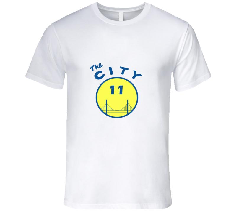 The City Number 11 Oakland Basketball Sport T Shirt