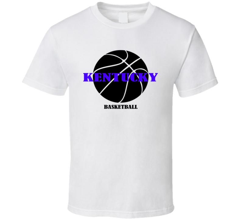 Kentucky University #4 Ranking Polls Men's College Basketball Team T Shirt