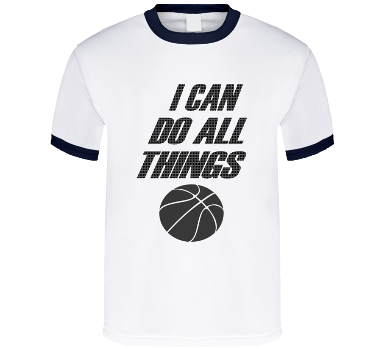 I Can Do All Things Steph Curry Warrior Oakland California Mens Basketball Fan T Shirt