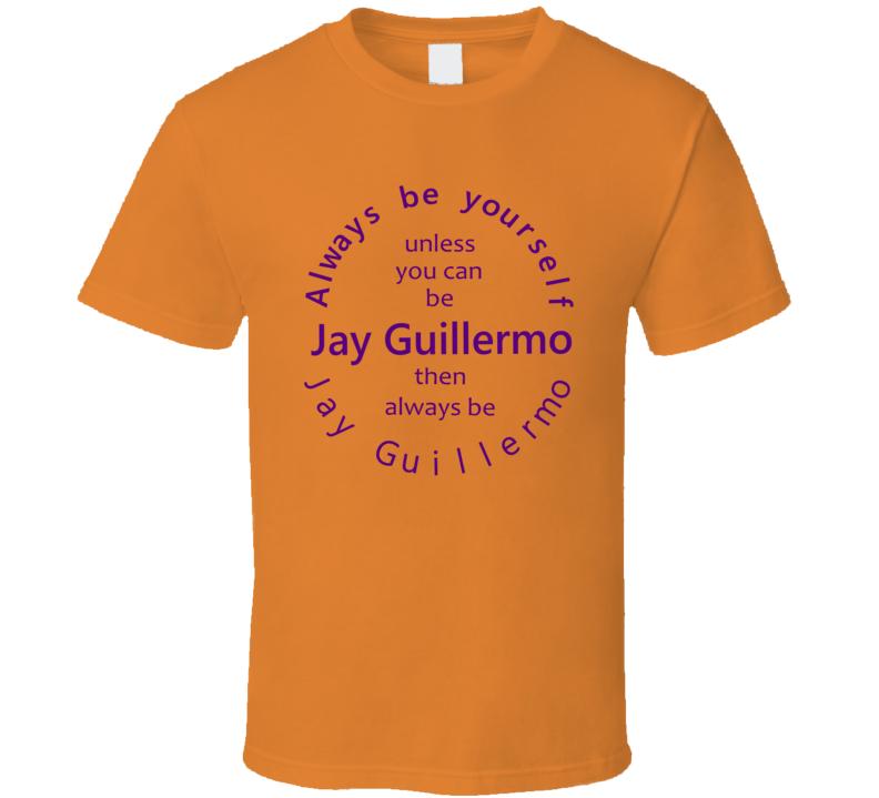 Always Be Jay Guillermo Clemson University Football Fan T Shirt