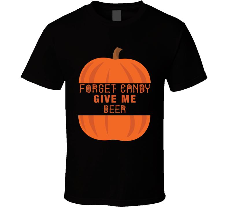 Funny Halloweeen Beer T-shirt
