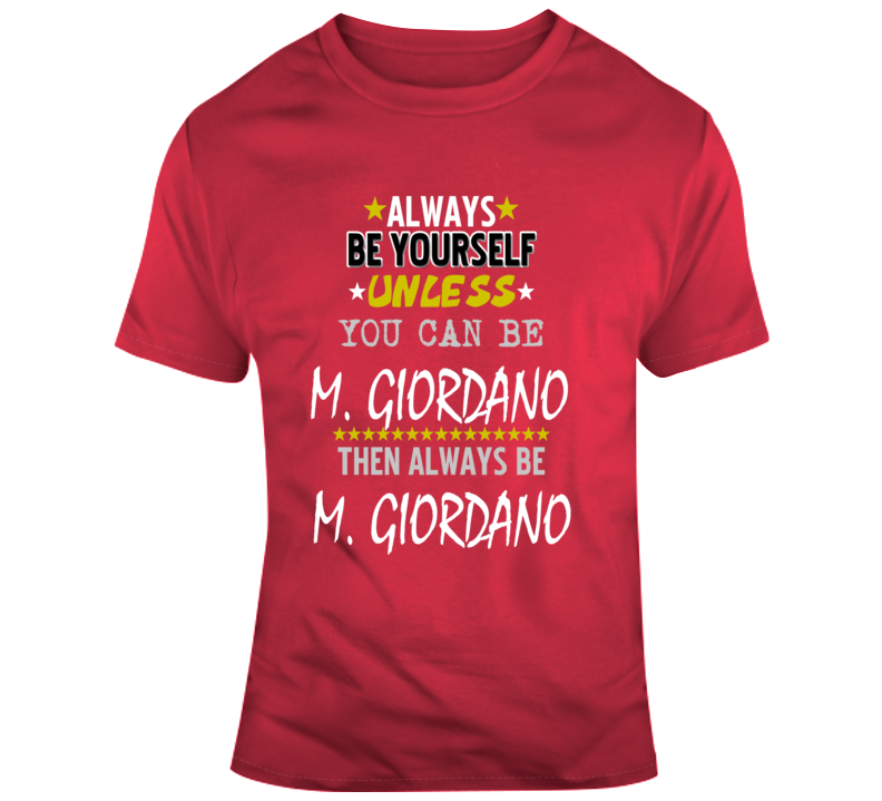 Mark Giordano Norris Trophy Hockey Fan Funny Gift T Shirt