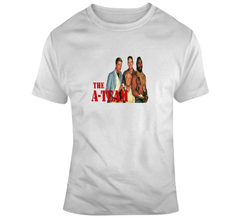 A Team Mr T Old School Fan T Shirt