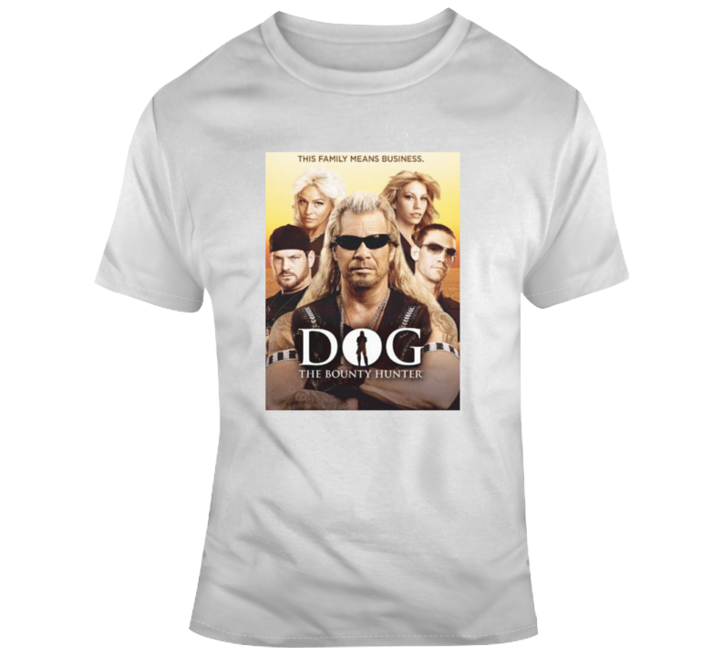 Dog The Bounty Hunter Old School Vintage Crime Tv Show T Shirt