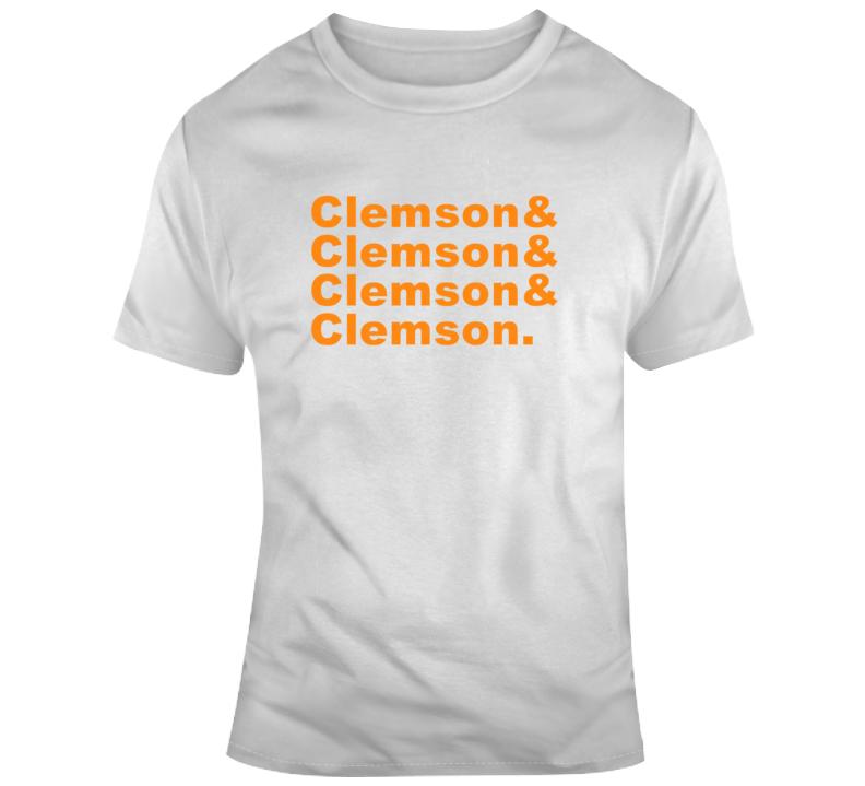 Clemson And Football Basketball College Fan T Shirt