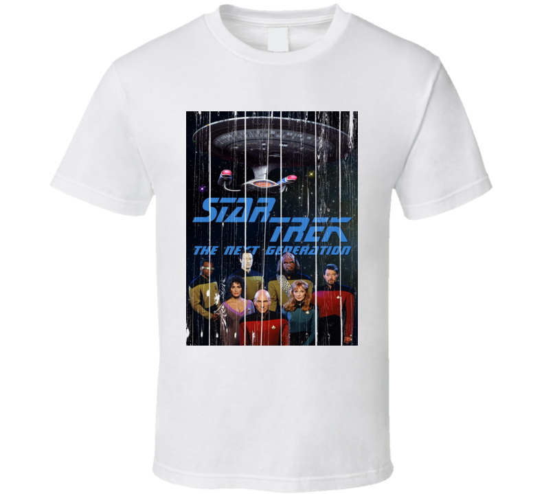 Star Trek 80's Retro Sci-fi Gift Fan T Shirt