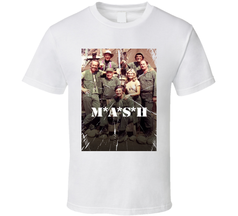 Mash Retro 80's Tv Show Funny Fan Army Gift T Shirt