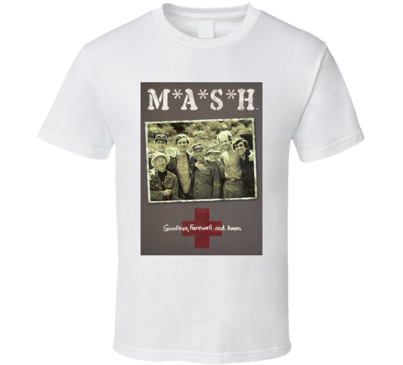 Mash 80's Tv Show Funny Father's Day Fan Army Gift T Shirt