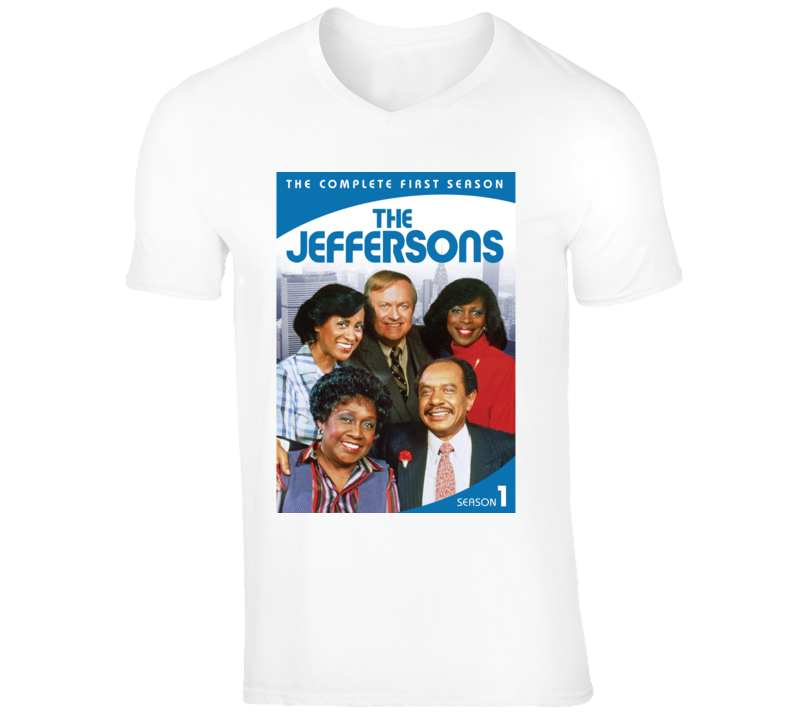 The Jeffersons 70's 80's Tv Show Comedy Fan Gift T Shirt