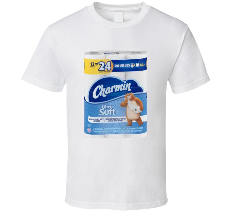 Charmin Ultasoft Toilet Paper Funny Bathroom Essential Gift T Shirt
