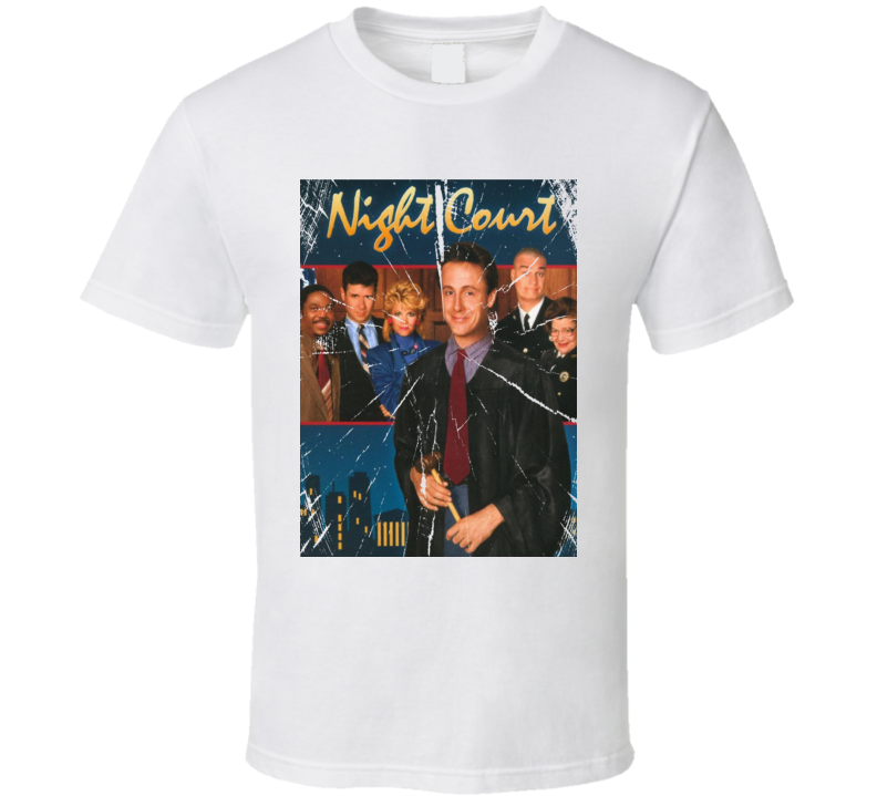 Night Court Retro Vintage Style 80's 90's Tv Show Funny Fan Gift T Shirt