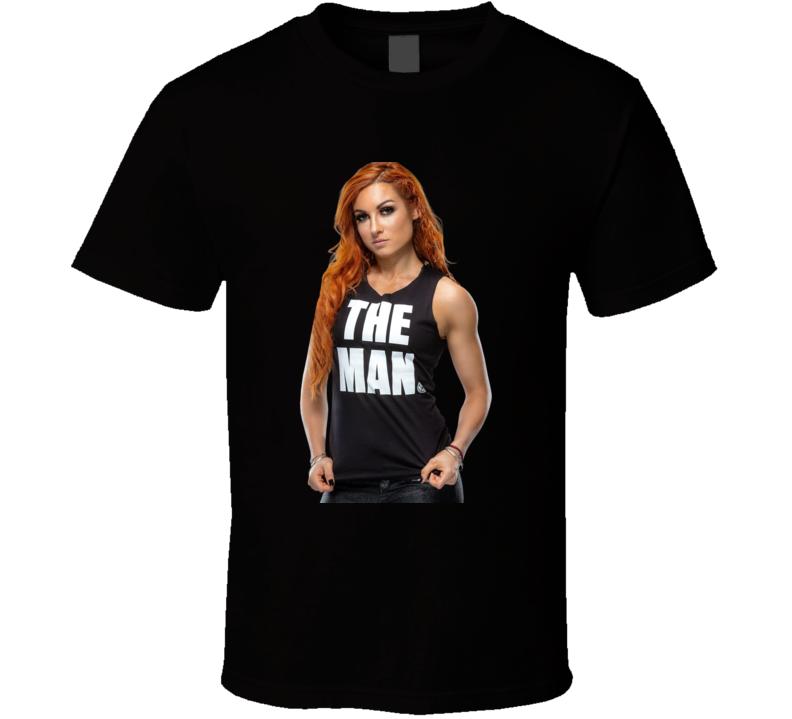 Becky Lynch The Man Wwe Essential Fan Gift T Shirt