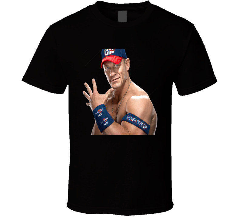John Cena Wwe Never Give Up Cool Fan Gift T Shirt