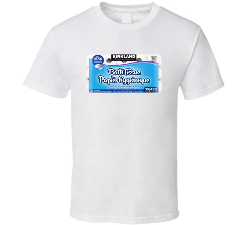 Bathroom Tissue Toilet Paper Funny Gift T Shirt