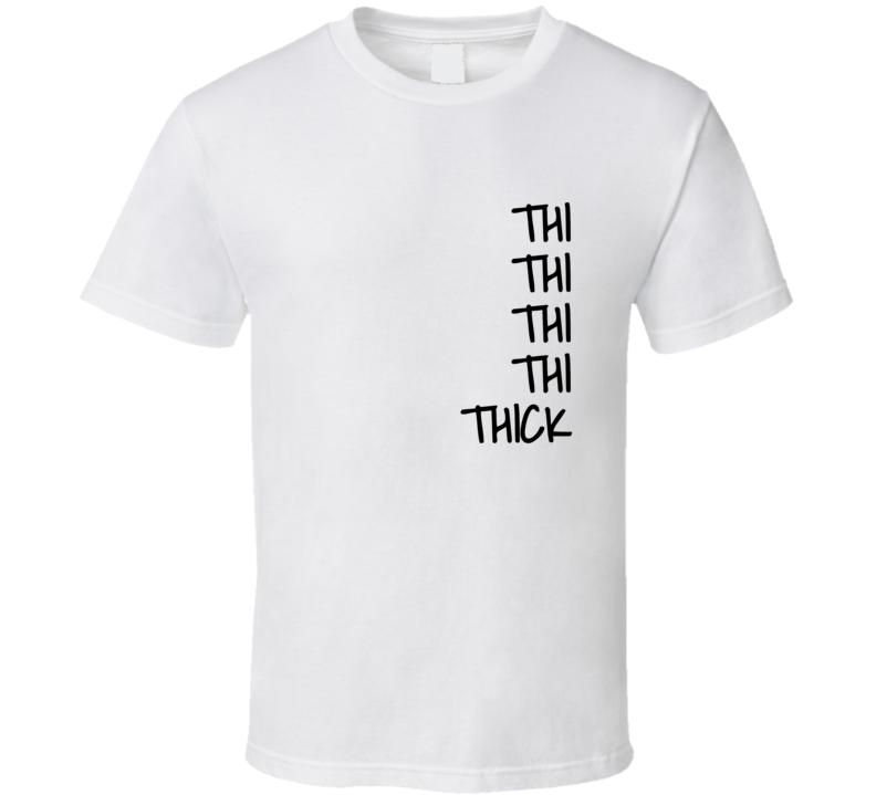 Thick Quarantine Weight Gain Funny Gift T Shirt