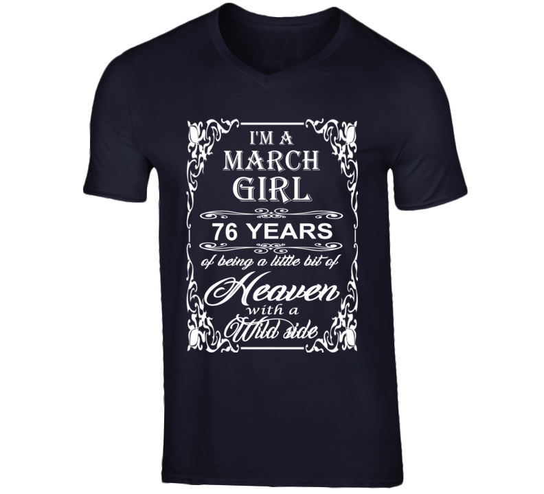 March Girl 76 Heaven and Wild Side Light T Shirt