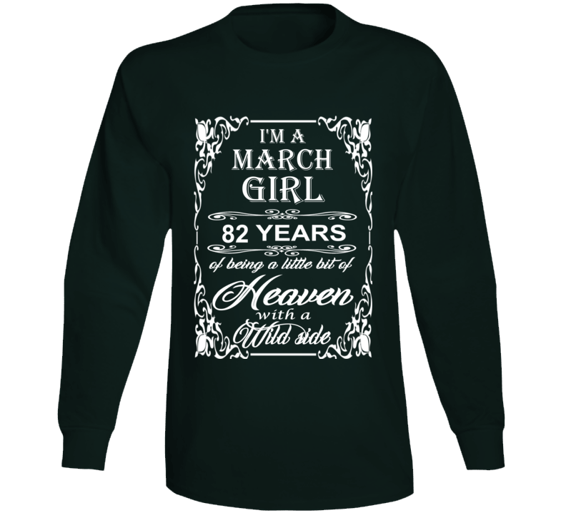 March Girl 82 Heaven and Wild Side Light Long Sleeve