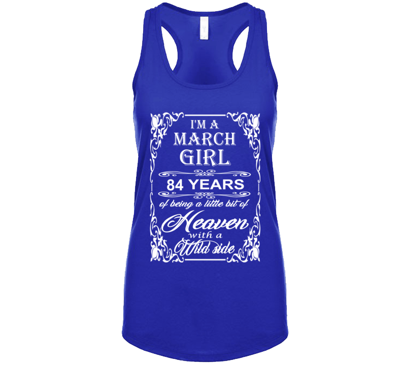 March Girl 84 Heaven and Wild Side Light T Shirt