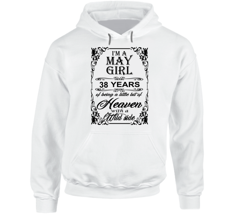 May Girl 38 Heaven and Wild Side Hoodie