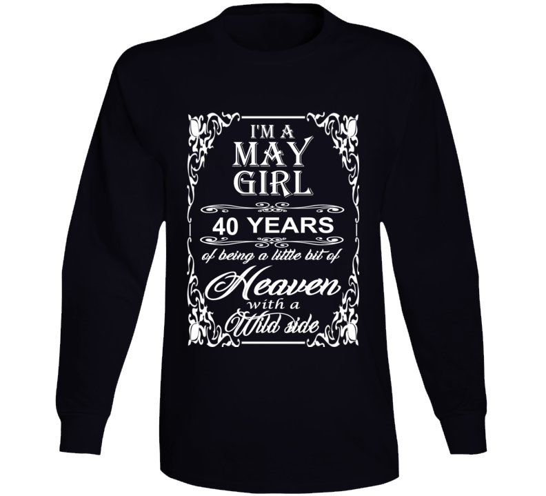 May Girl 40 Heaven and Wild Side Light Long Sleeve