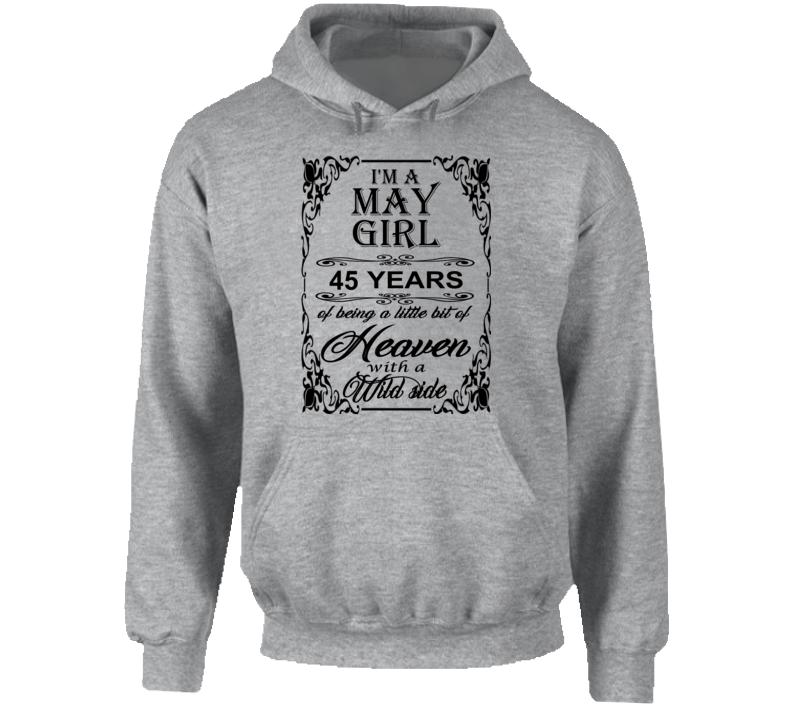May Girl 45 Heaven and Wild Side Hoodie