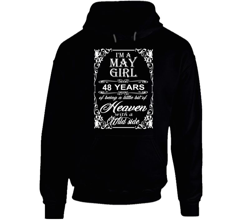 May Girl 48 Heaven and Wild Side Light Hoodie