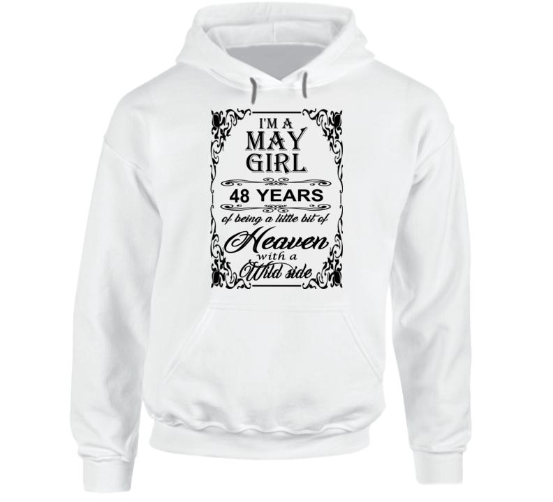 May Girl 48 Heaven and Wild Side Hoodie