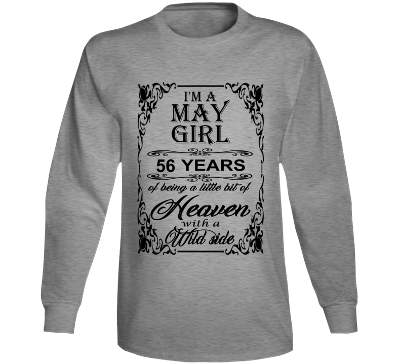 May Girl 56 Heaven and Wild Side Long Sleeve