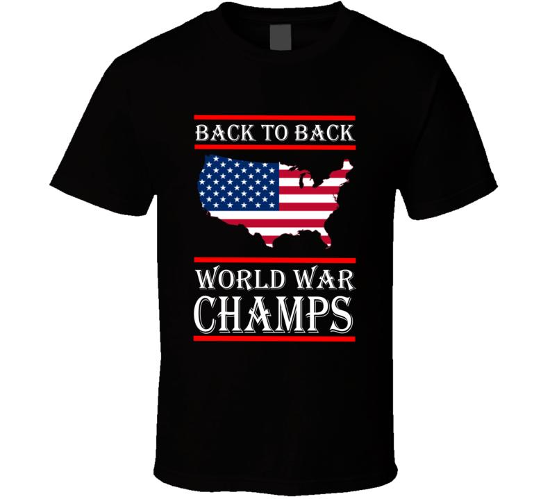 World War Champs Light T Shirt