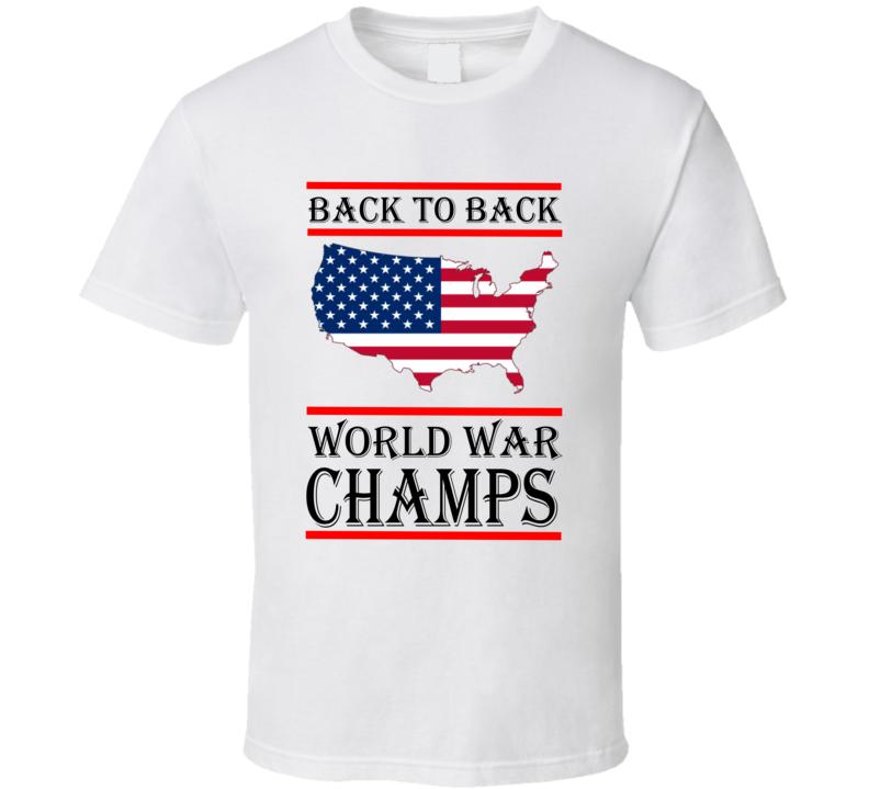 World War Champs T Shirt