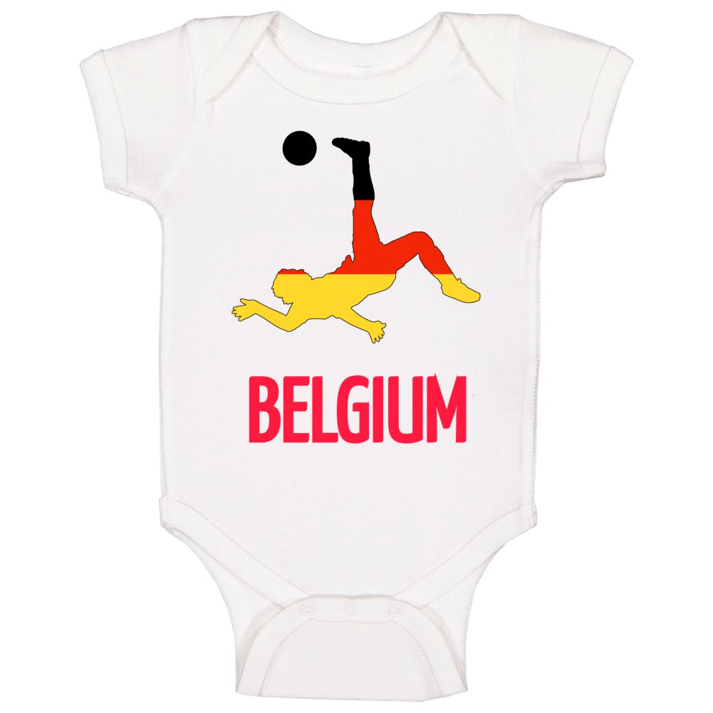 Belgium National Soccer Team Baby One Piece