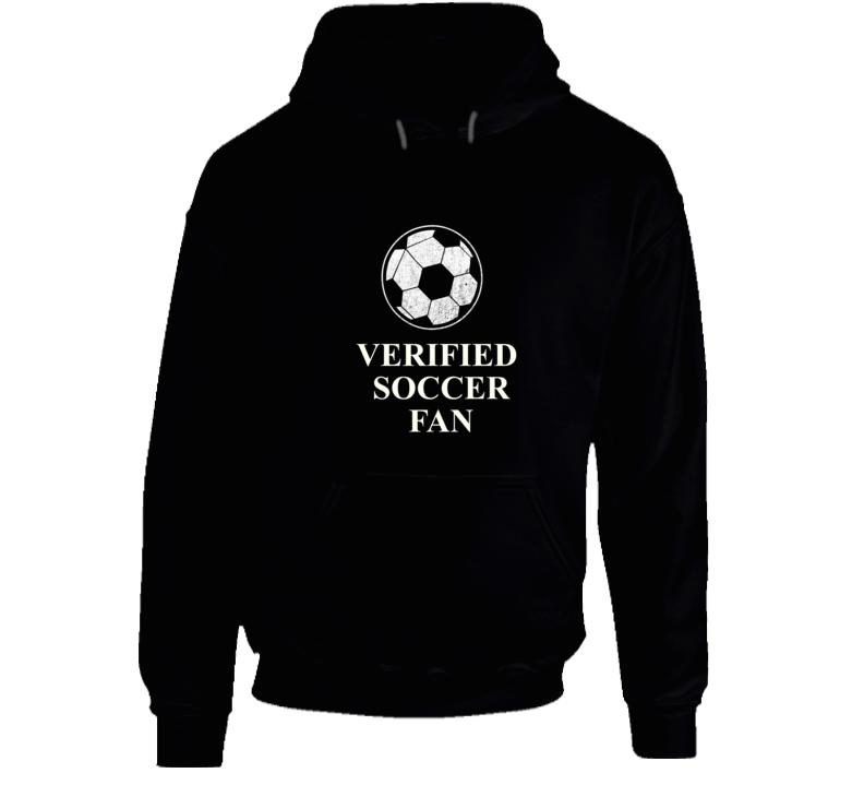 Verified Soccer Fan Hoodie