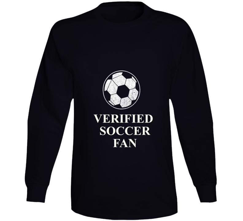 Verified Soccer Fan Long Sleeve