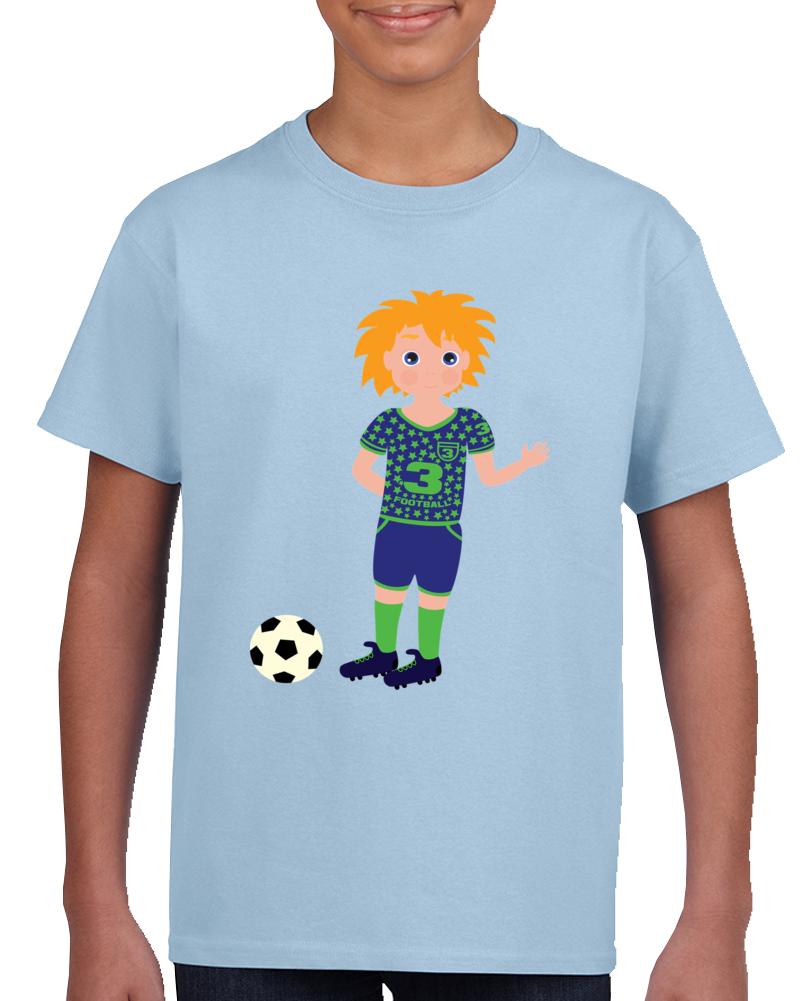 Boy Soccer Player T Shirt