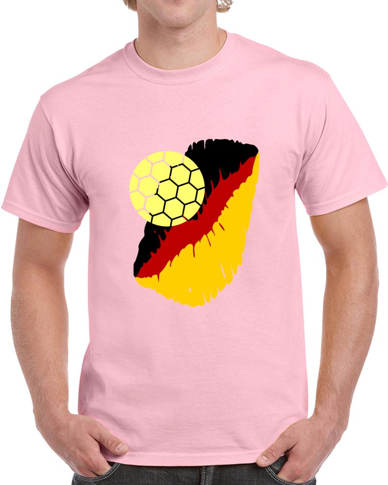 I Love The German National Soccer Team T Shirt