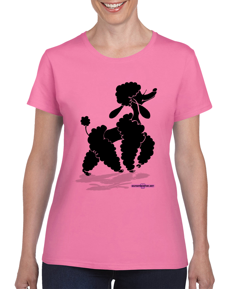 Queen Poodle Of All I Survey Ladies T Shirt