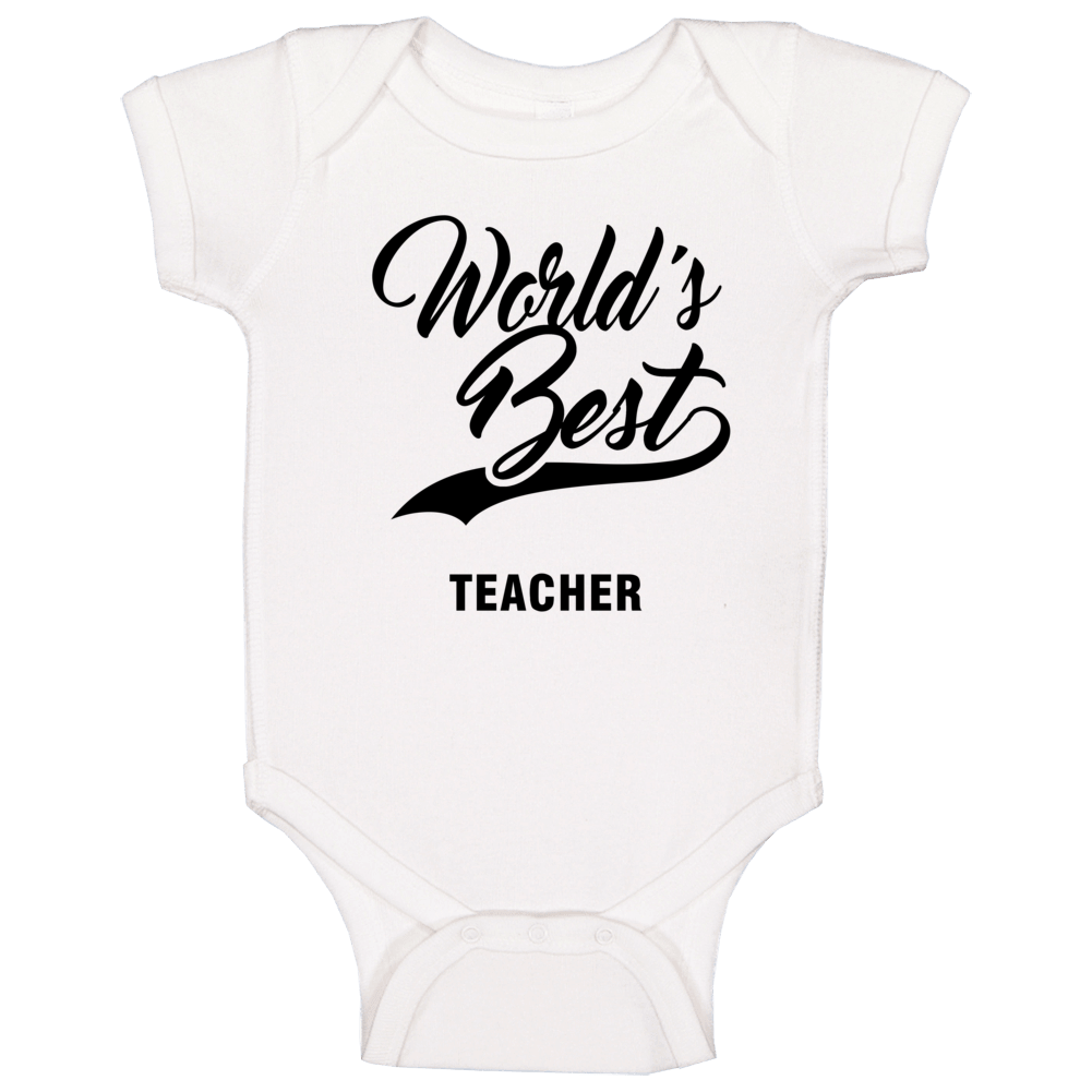 World's Best Teacher Baby One Piece