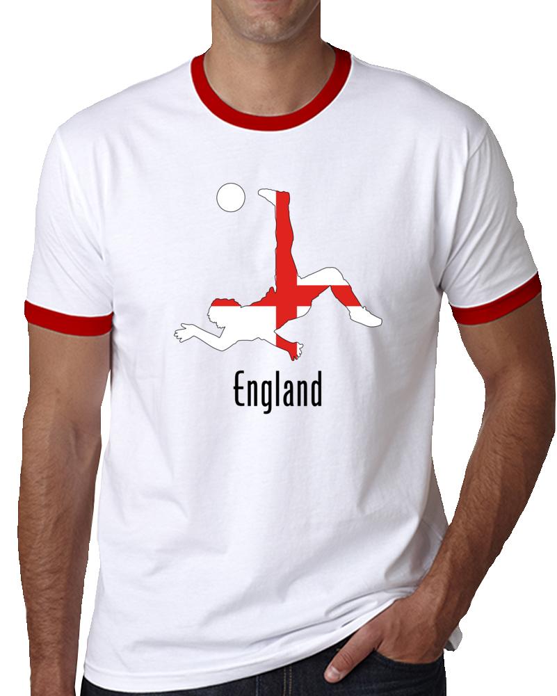England Soccer Player  T Shirt