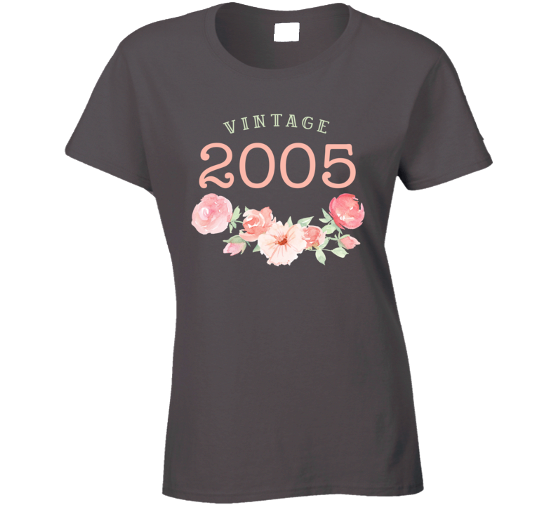 Vintage Human 2005 Edition Ladies T Shirt