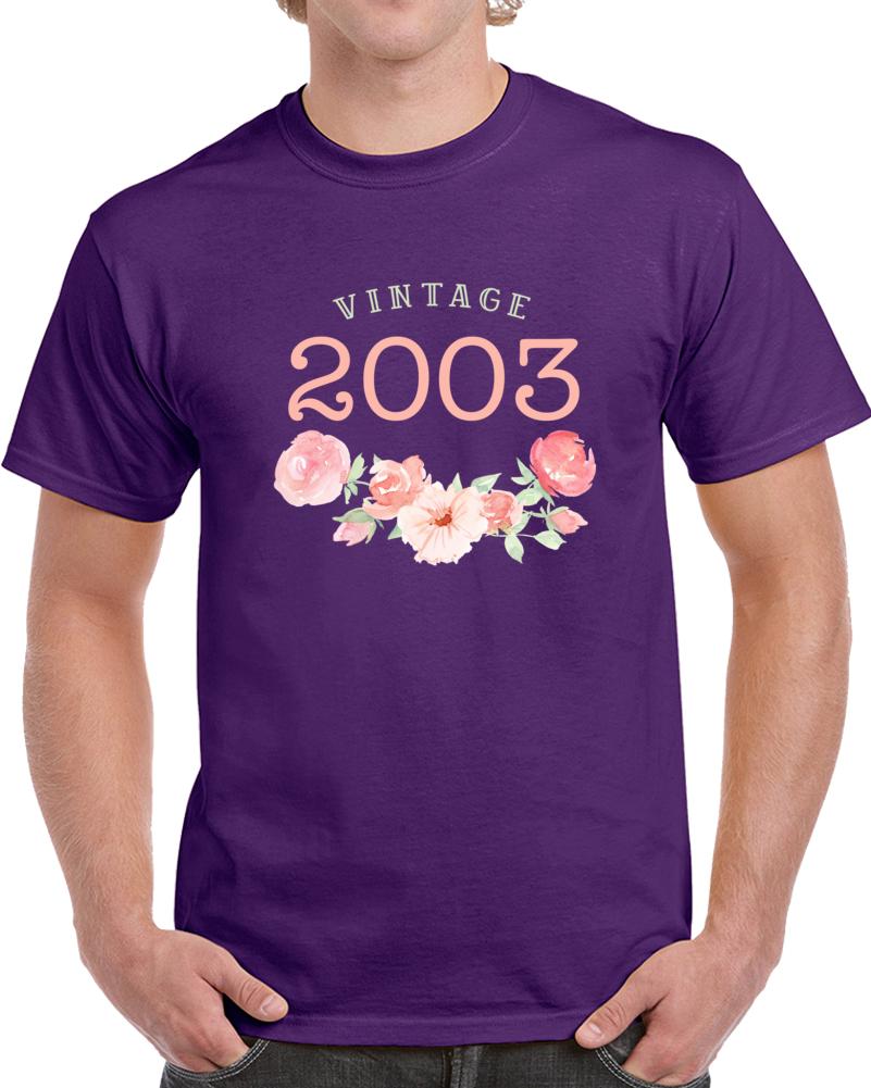 Vintage Human 2003 Edition T Shirt