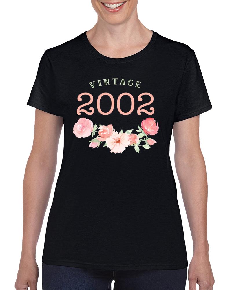 Vintage Human 2002 Edition Ladies T Shirt